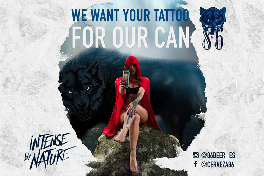 """BAUM FEST – """"WE WANT YOUR TATTOO FOR OUR CAN"""""""
