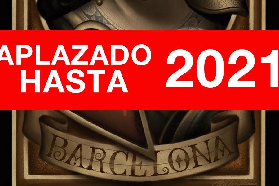 Comunicado oficial aplazamiento Only Tattoo Barcelona 2021
